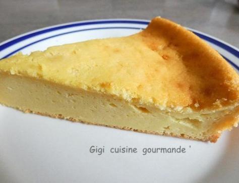 Gateau mousseux au fromage blanc