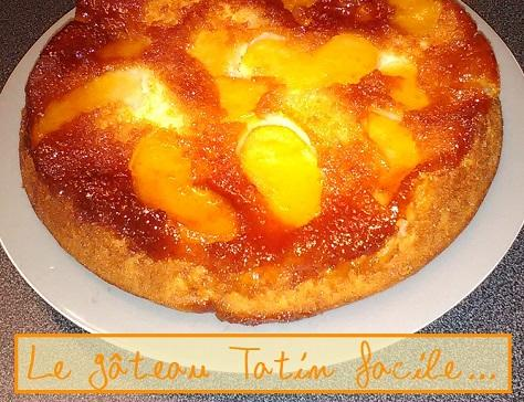 Gateau tatin facile