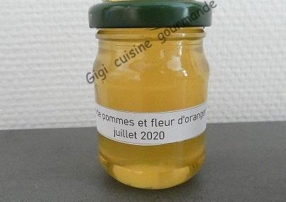 Gelee de pommes et fleur d oranger au compact cook pro