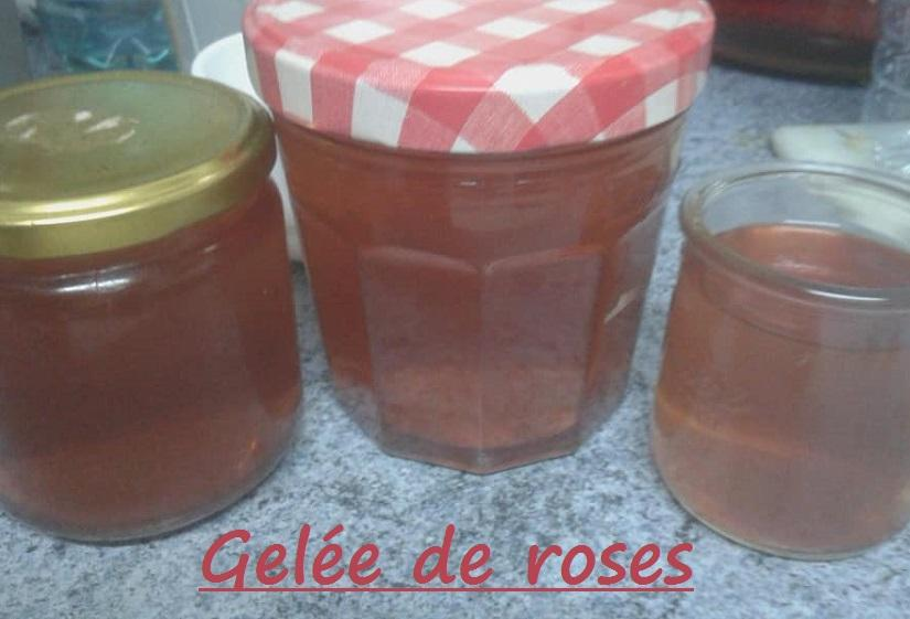Gelee de roses
