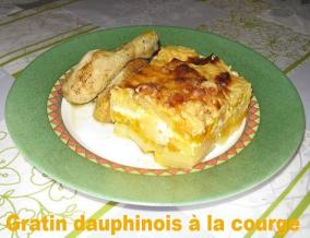 Gratin dauphinois a la courge