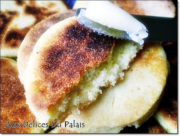 Harcha ou galette de semoule