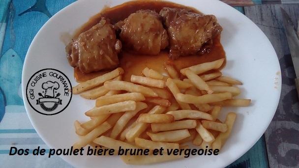 Hauts de cuisses de poulet a la biere brune et vergeoise au cookeo