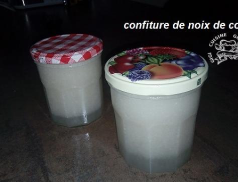 Confiture de noix de coco au Thermomix