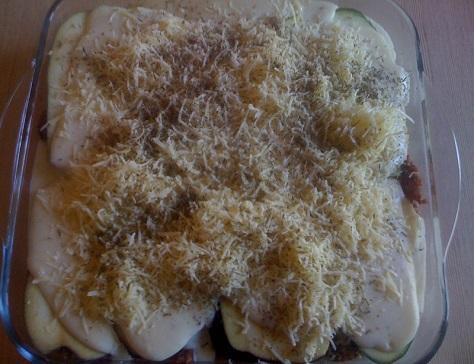 Lasagnes bolognaises sans pate