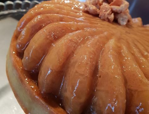 Ma revisite de la tarte aux pommes