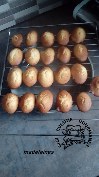 Madeleines faciles au thermomix