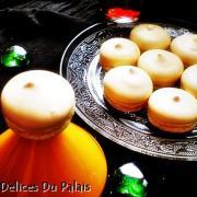 Meringue au citron imitation macarons