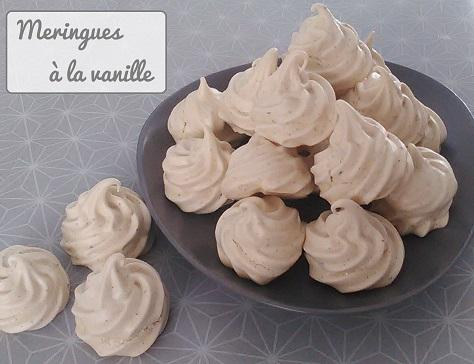 Meringues francaises