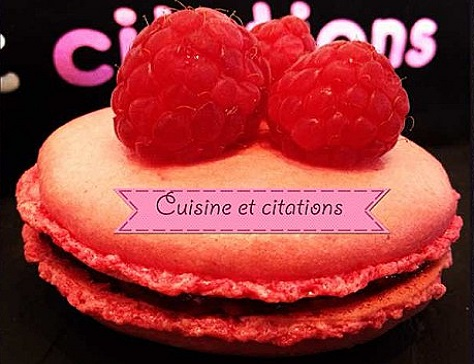 Mes macarons framboise une pure gourmandise
