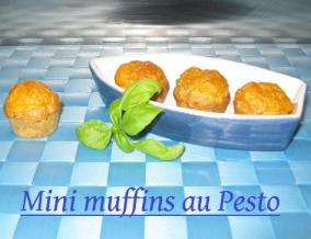 Mini muffins au pesto