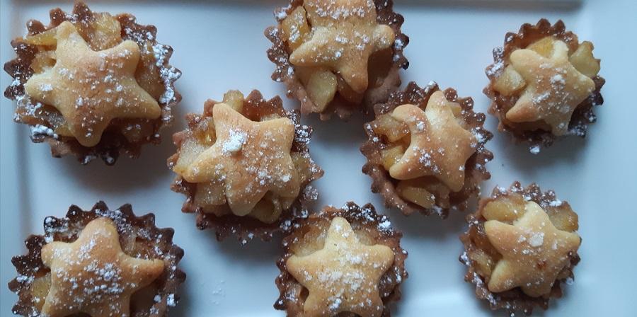 Mini tartelettes aux pommes et aux epices