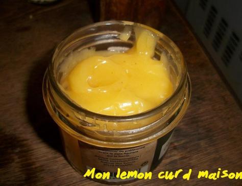 Mon lemon curd maison