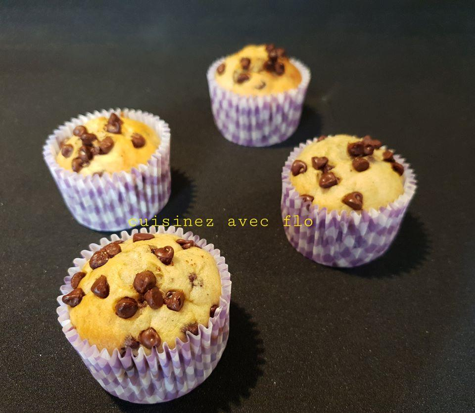 Muffins a la banane healthy