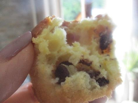 Muffins au mascarpone poire et chocolat 2