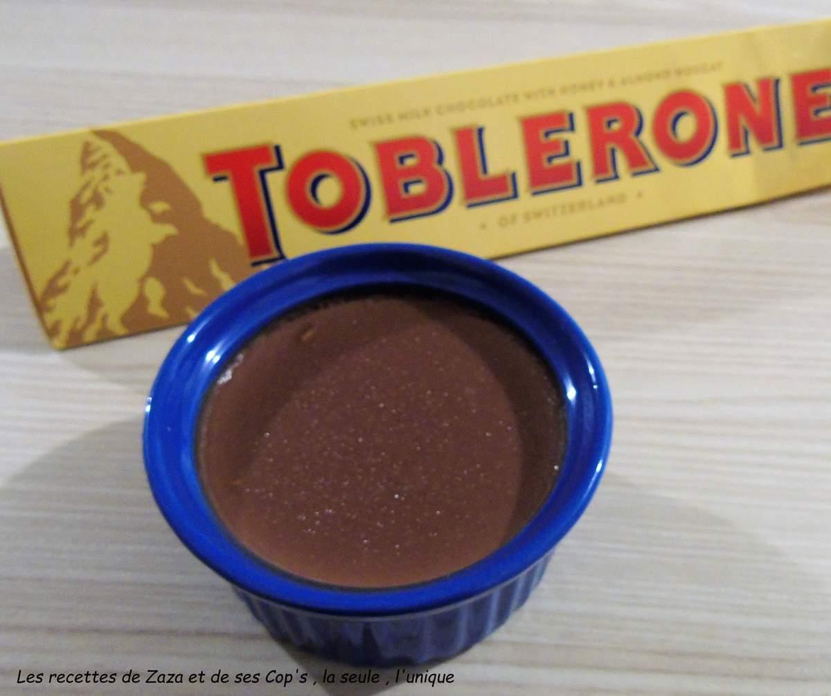 Crème dessert au Toblerone
