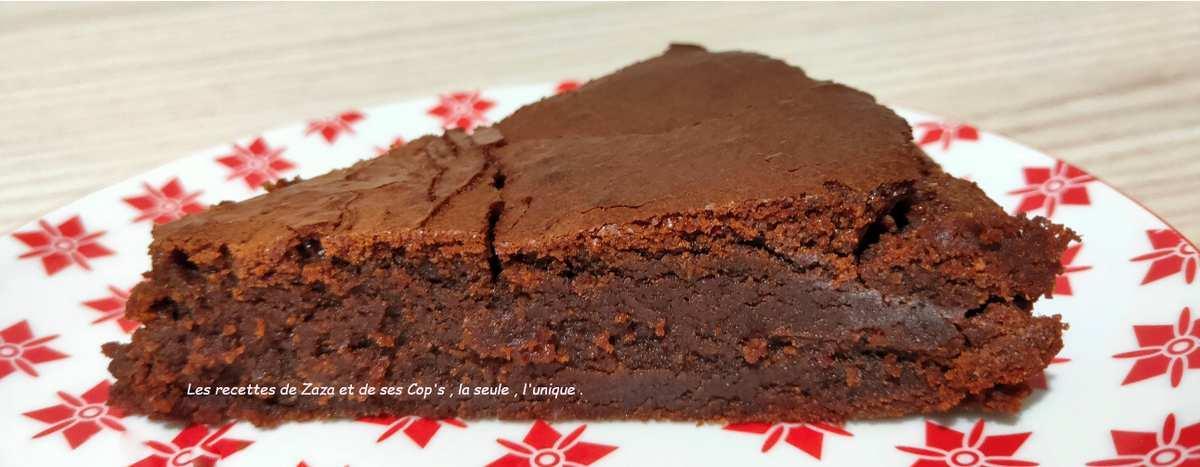 Moelleux au chocolat et à l'amande