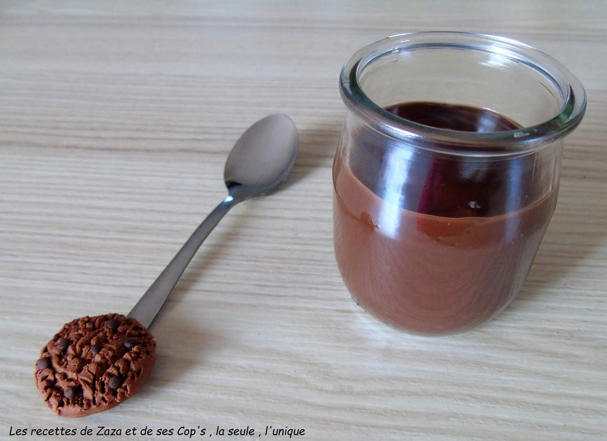Crèmes au chocolat au Cookéo