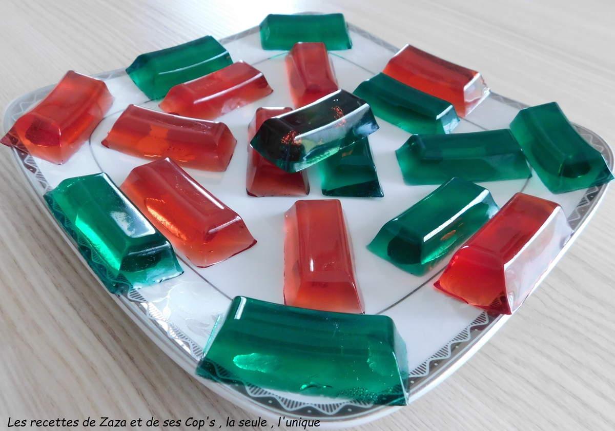 Bonbons gélifiés maison