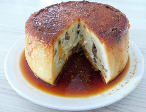 Gâteau de semoule Rhum Raisins au Cookéo