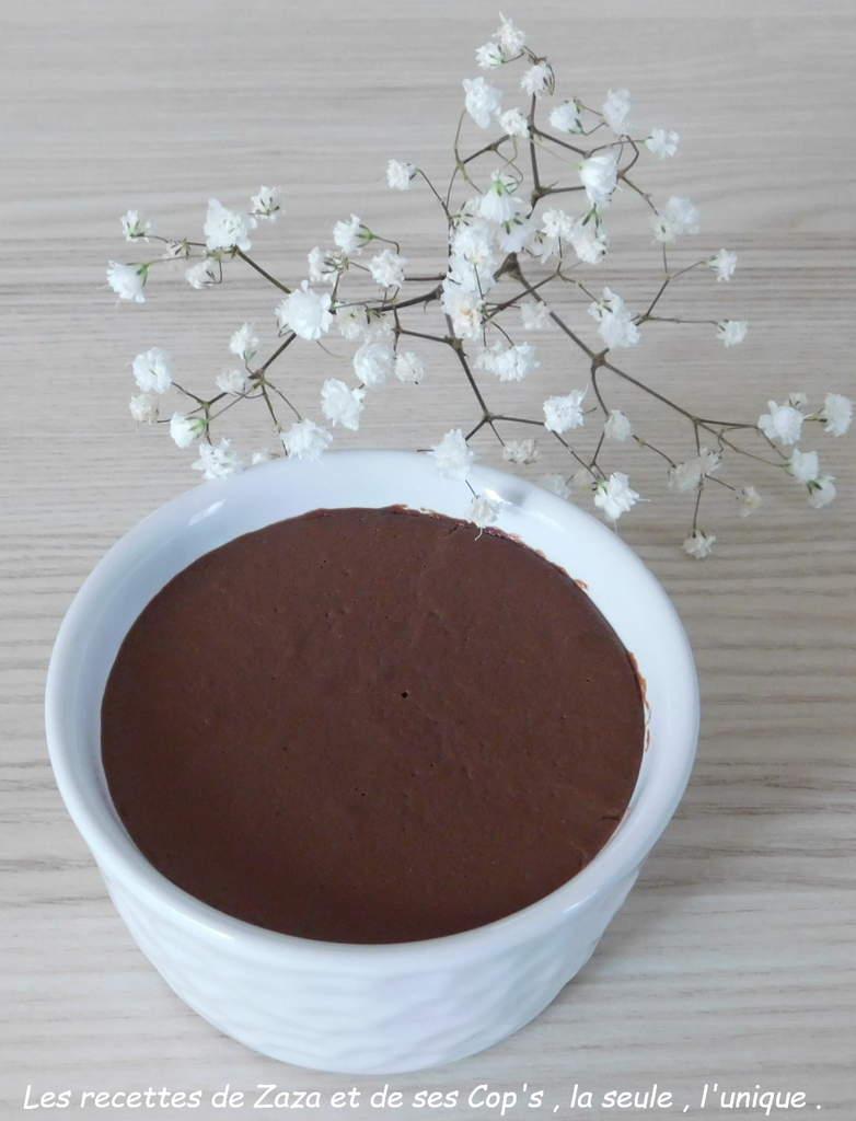 Crème au chocolat (version 2)