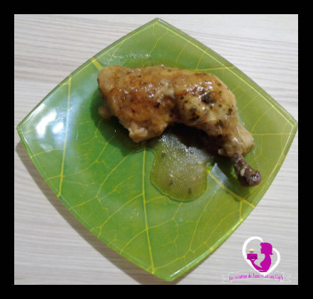 Cuisses de poulet à l'échalote au Cookéo