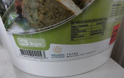 Pain aux cereales au compact cook pro et cake factory 2