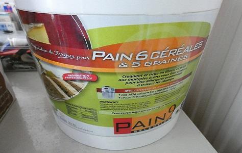 Pain aux cereales au compact cook pro et cake factory 3