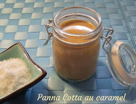 Panna cotta au caramel