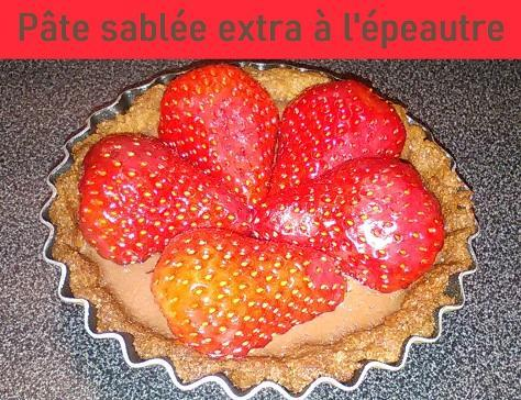 Pate sablee extra a l epeautre