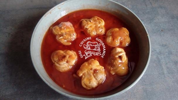 Paupiettes de poulet au cookeo