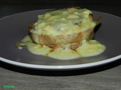Pave de boeuf sauce fromage et epoisse