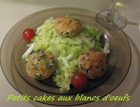 Petits cakes aux blancs d oeufs