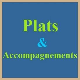 Plats et accompagnements 2