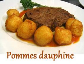 Pommes dauphine et autres recettes a base de reste de pommes de terre