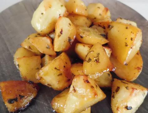 Pommes de terre persillees au four