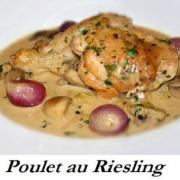 Poulet au riesling