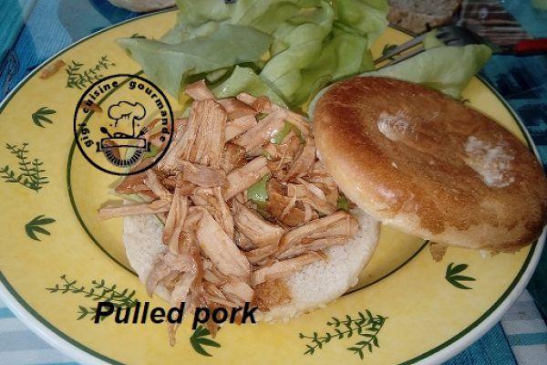 Pulled pork au cookeo