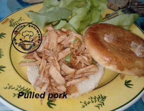Pulled pork au cookeo