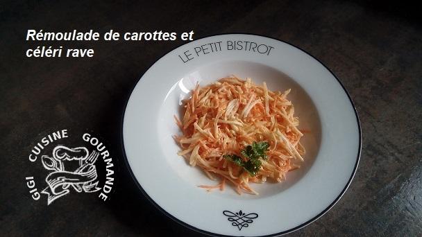 Remoulade de carottes et celeri rave