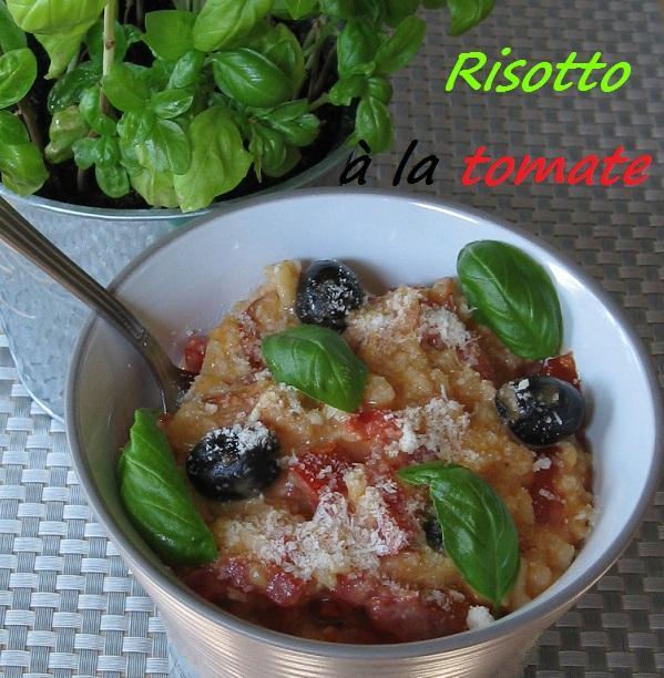 Risotto a la tomate