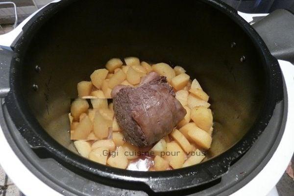 Roti de boeuf au cookeo 2