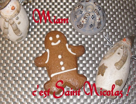 Saint nicolas en pain d epices