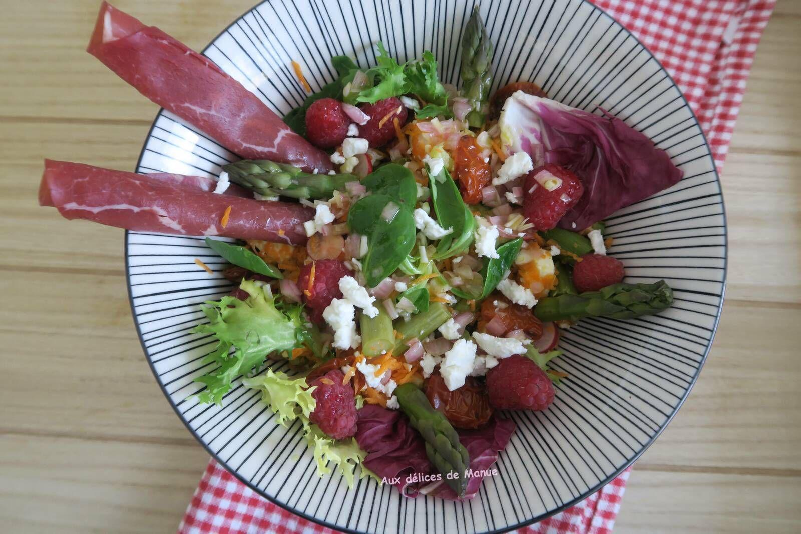 Salade de primeurs a la bresaola