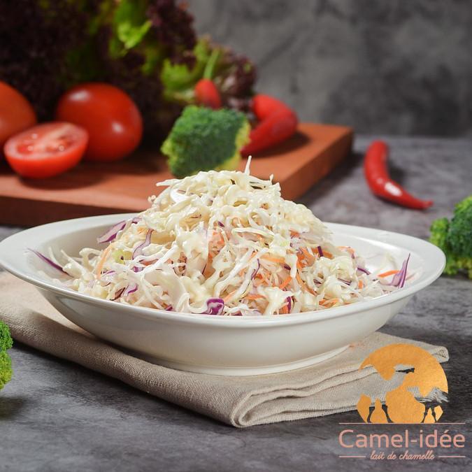 Salade ultra vitaminee au lait de chamelle