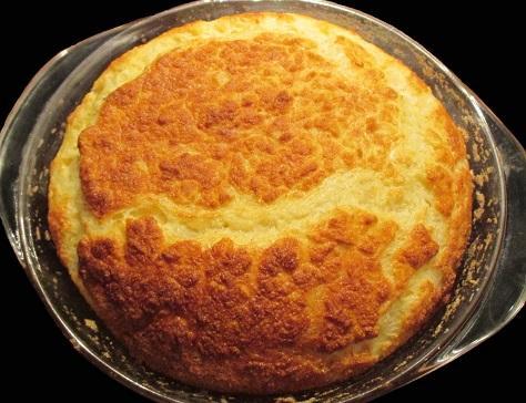 Souffle de pomme de terre au fromage