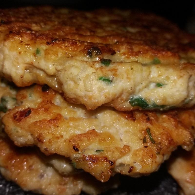 Steak hache de poulet