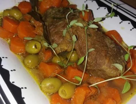 Tajine aux olives zitoune