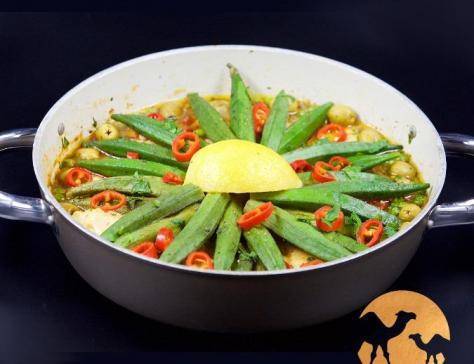 Tajine de legumes au lait de chamelle