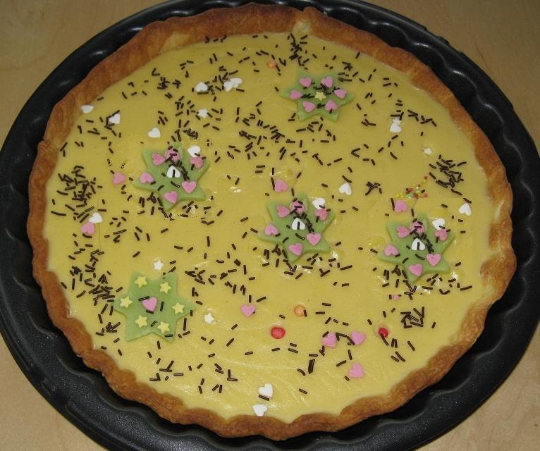 Tarte au chocolat blanc version 2